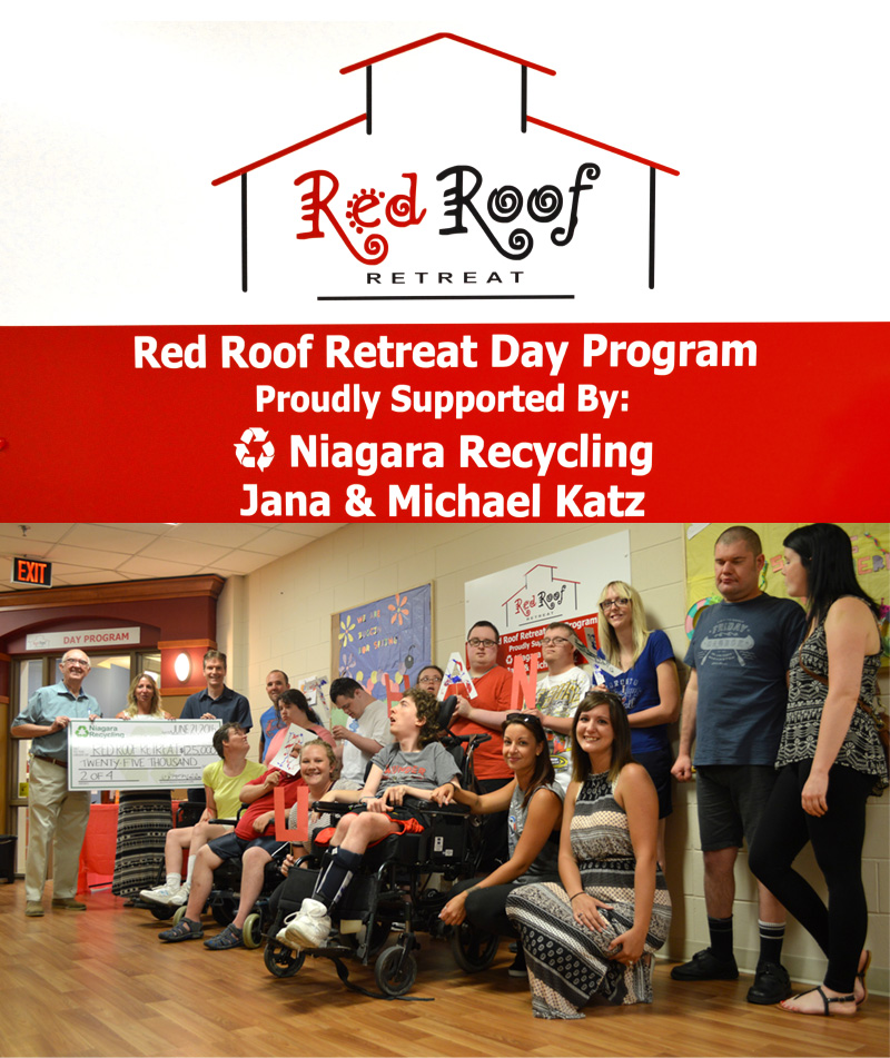 Niagara Recycling is proud to support the Red Roof Retreat